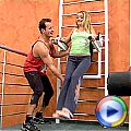 Naughty teenie girl gets fucked at the private gym area